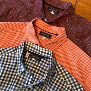 Blade + Blue casual shirts Made in USA